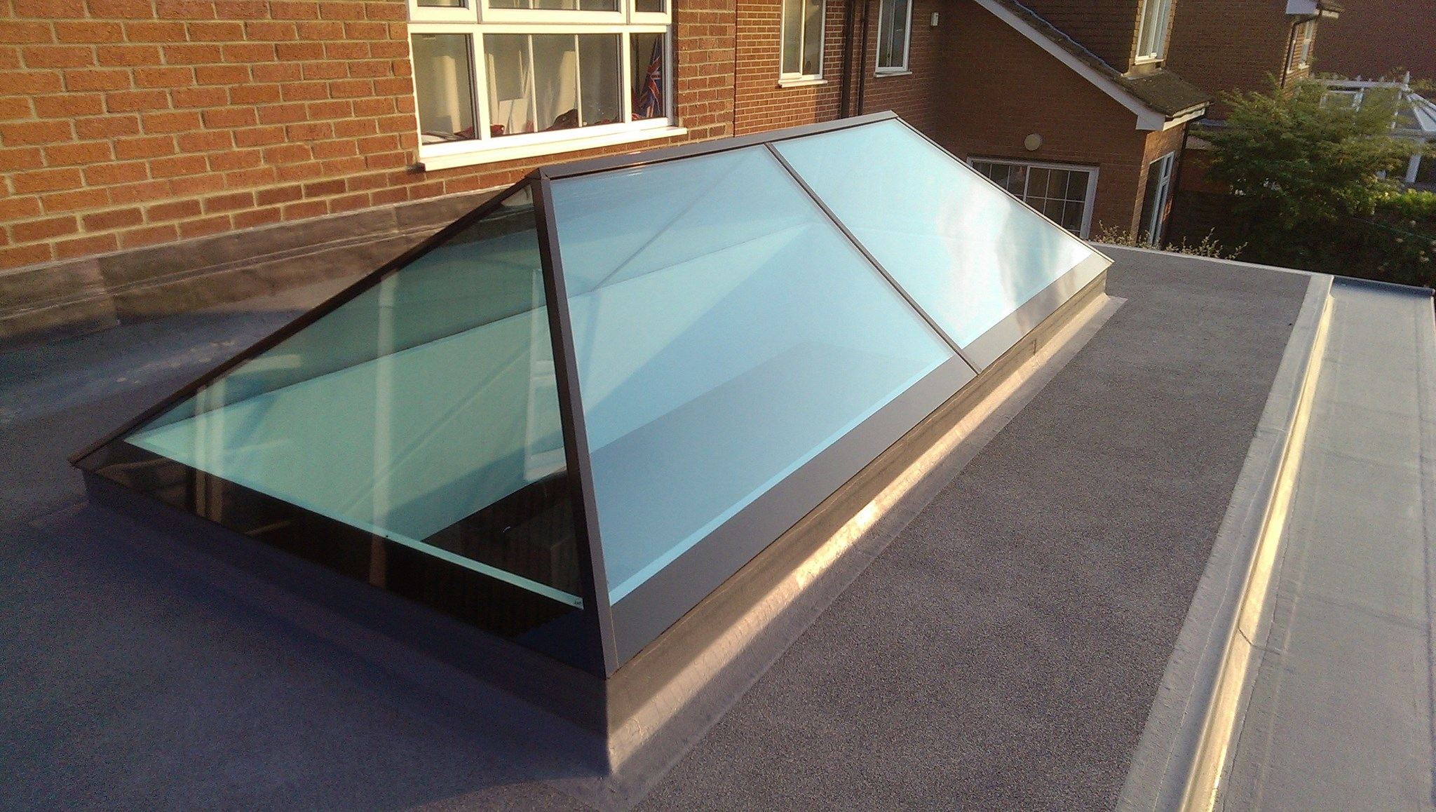 Aston windows systems limited for Large skylights